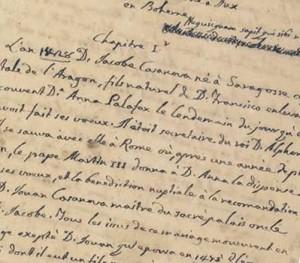 La palabra se plasma y surge la escritura. Fuente: http://rbme.patrimonionacional.es