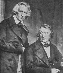 Jaco y Wilhelm Grimm. Imagen:  http://algundiaenalgunaparte.wordpress.com