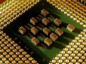 Microprocesador; cerebro y corazón de un ordenador. Imagen: http://static.blogo.it