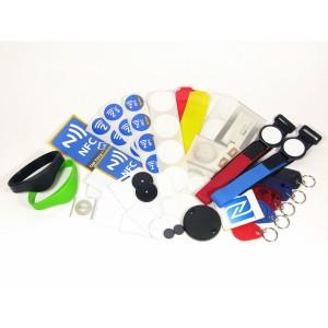 Diferentes tipos de tag. Imagen: http://nfc-arabia.com