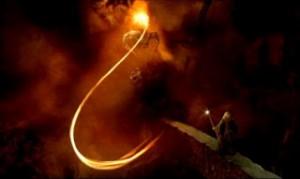 """Balrog, el temible demonio desenterrado por los enanos de Moria, en """"El Señor de los Anillos"""". Imagen: http://lordismo.blogspot.com.es"""