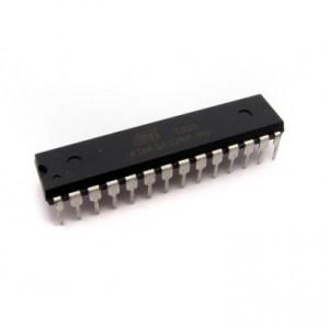 ATMega328.  Micro usado en Arduino UNO. Imagen: www.openhacks.com