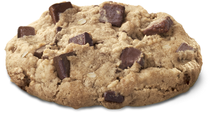 Cookie, o galletita de chocolate. Imagen: http://media.chick-fil-a.com